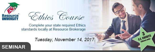 Classroom Ethics Course